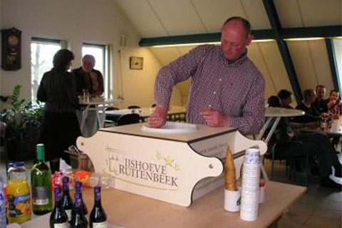 Ijsbox huren bij IJshoeve Ruitenbeek